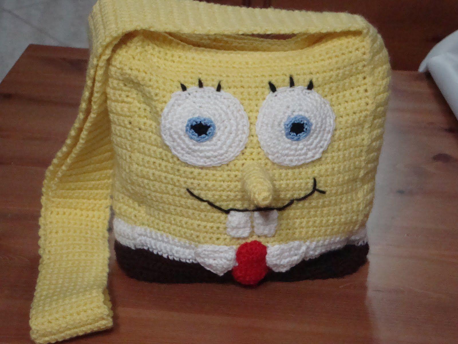 borsa di spongebob da luncinettodifranca.blogspot.com