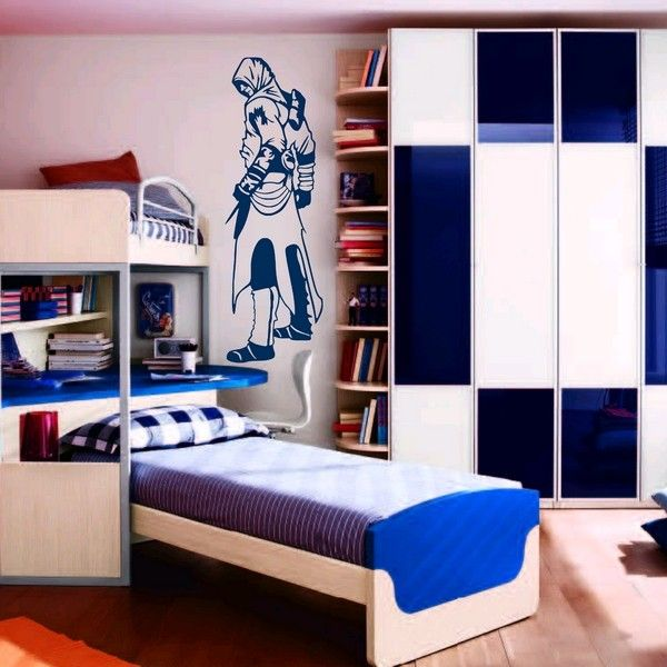 Pin By Cassie San Miguel On Gaming Assassin S Creed Boys Room Design Football Room Decor