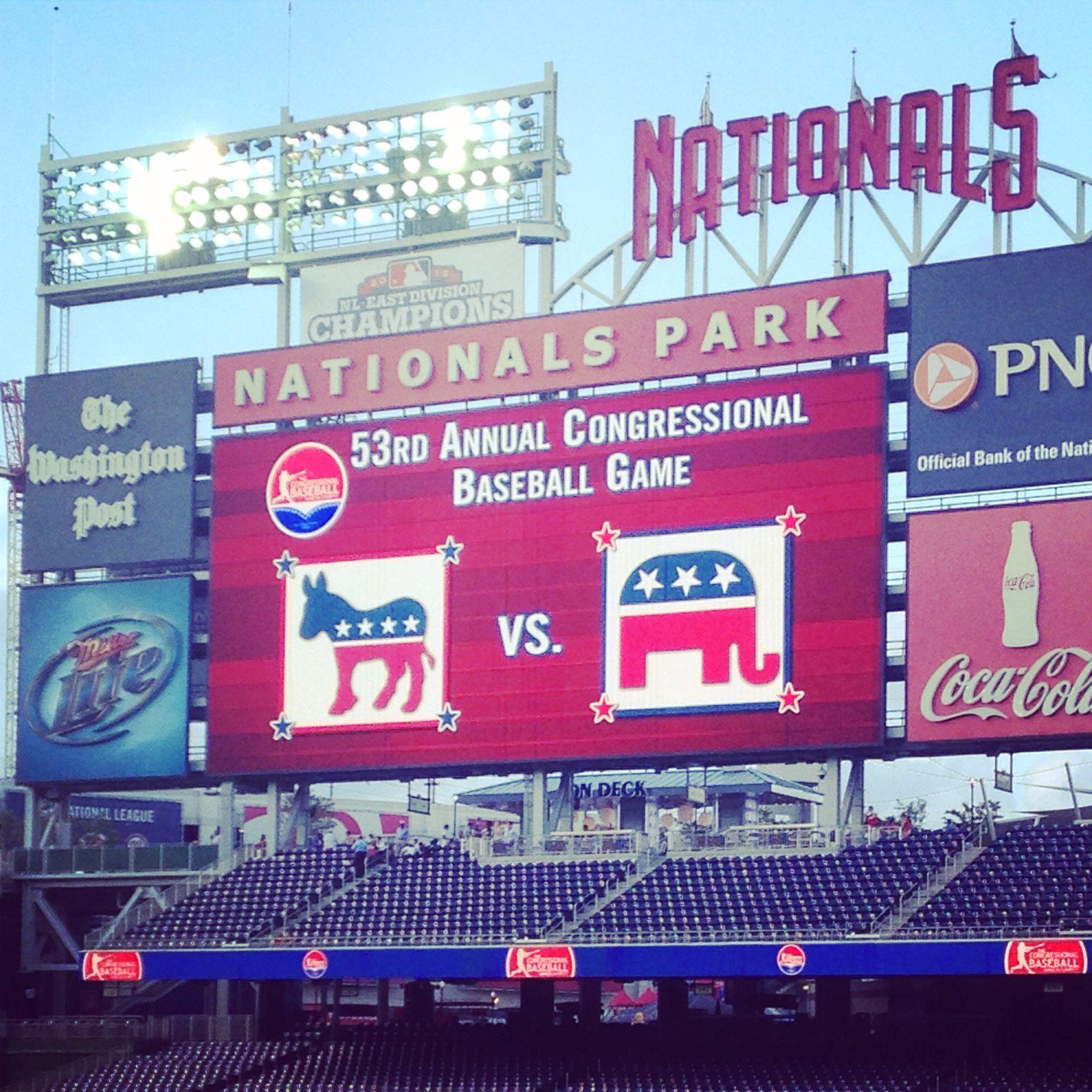 Congressional Baseball Game