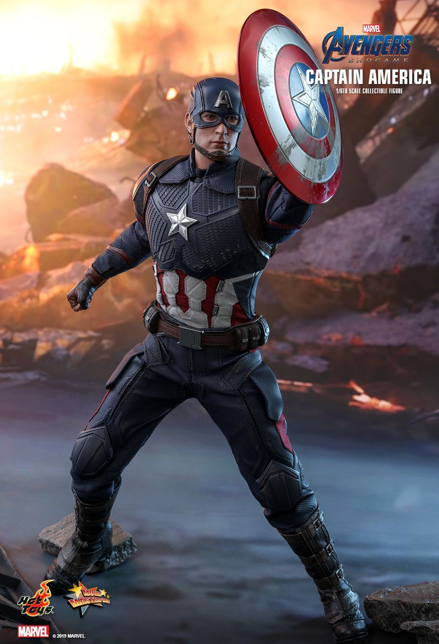 Hot Toys Avengers Endgame Captain America 1 6th Scale