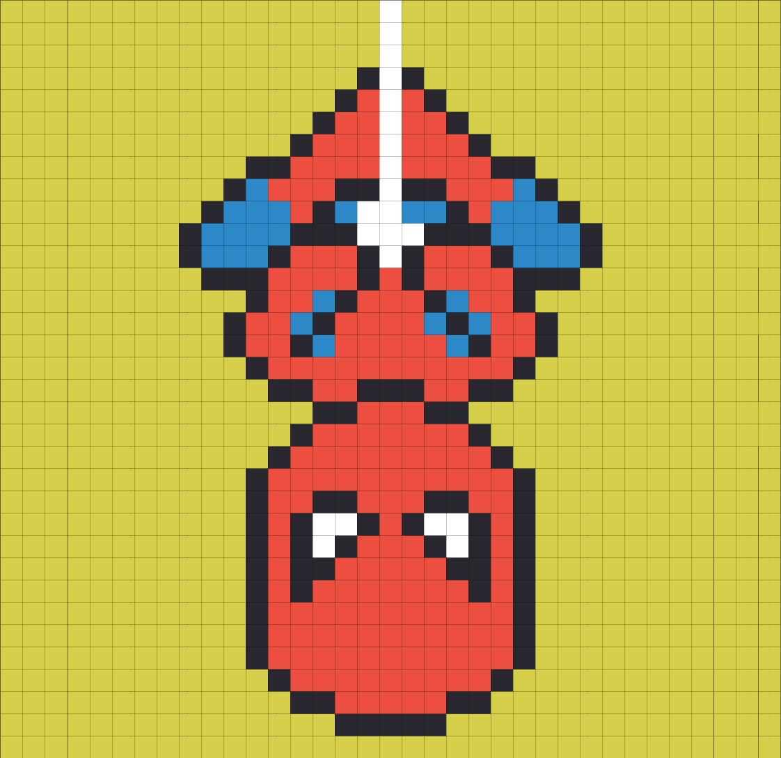 Afficher L Image D Origine Pixel Art Super Heros