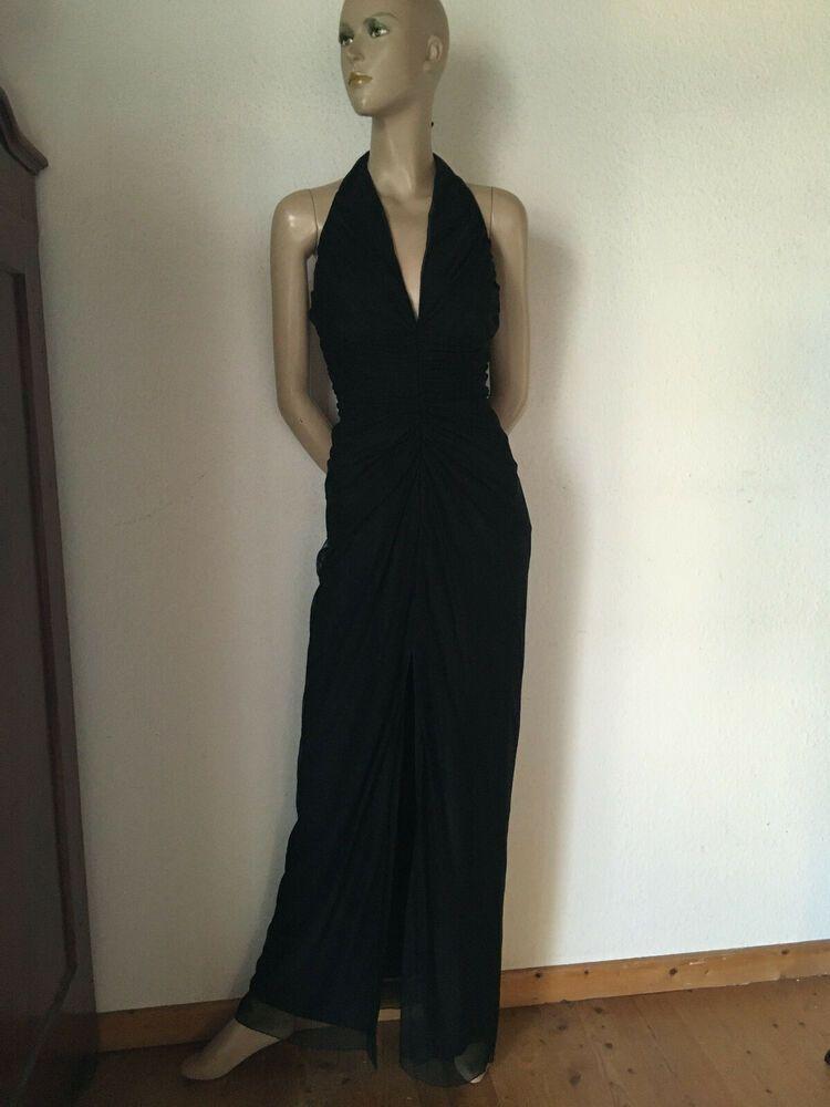 Maxikleid Abendkleid Tüllkleid schwarz Vera Mont Polyamid ...