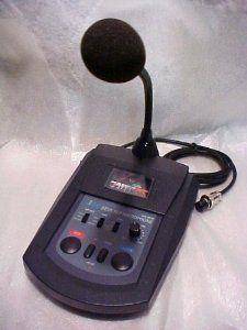 JCD201M Base Compressor CB Ham Radio Amplified Microphone
