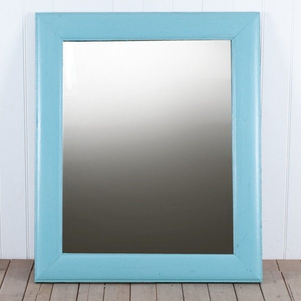 Avignon+Blue+Mirror++-+Crafted+from+solid+timber+adding