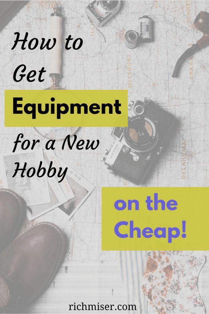 Photo of Wie man Ausrüstung für ein neues Hobby bekommt – billig! billiges Hobby, preiswerte ho …