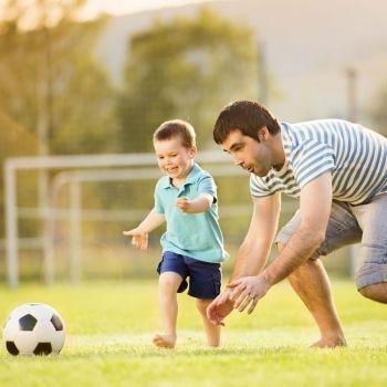 Consejos para padres de hijos a los que les gusta el fútbol.