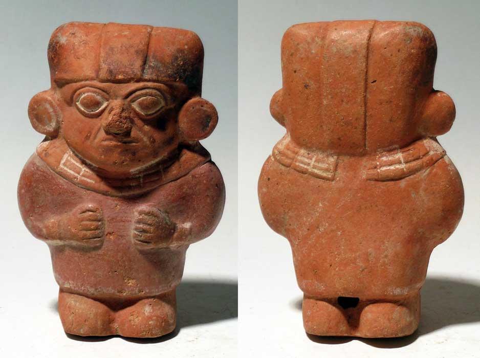 Numisbids Agora Auctions Inc Numismatic Auction 7 Lot 362 Female Moche Figure An Outstanding Moche Figure From Peru Ca Numismatics Purple Paint Auction