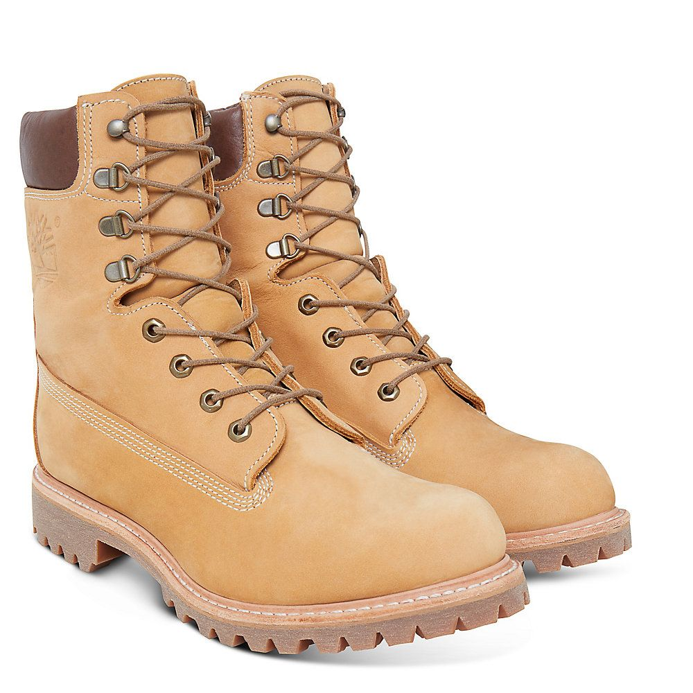 Usa Inch 8 Made Timberland Botas In Amarillo166dgnrs Hombre xoWrdeBC