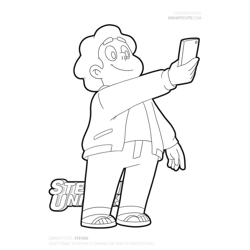 Free Printable Steven Universe Coloring Pages | Amethyst steven ... | 800x800