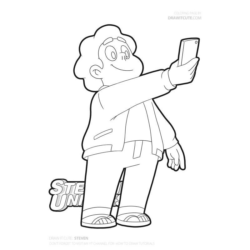 Steven Steven Universe Coloring Page Color For Fun Stevenuniverseoc Stevenuniverseart Stevenuniverset Free Coloring Pages Coloring Pages Steven Universe