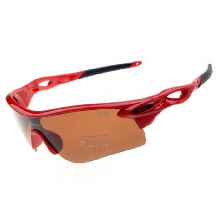642cee6a7b0fc Oakley Radarlock Path Sunglasses Polished Red Frame Iridium Lens. TecnologiaGafas  De Sol ...