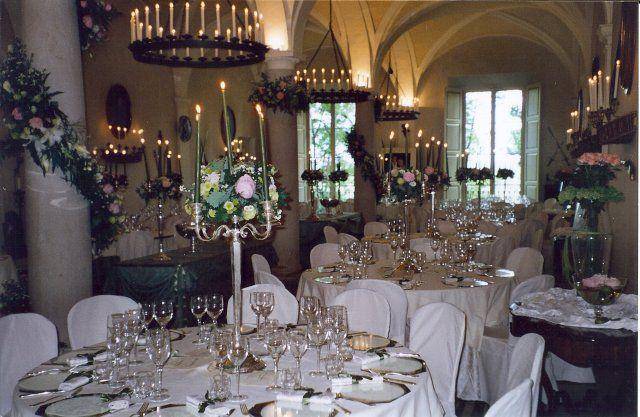 La Pergola Bedonia, Italia Table settings, Settings, Table