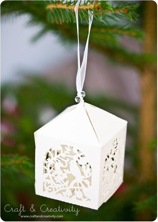 Julpyssel i papper -Christmas paper crafts | Craft & Creativity