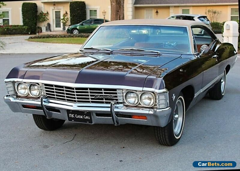 1967 Chevrolet Impala Fastback Coupe Florida Car 85k Mi