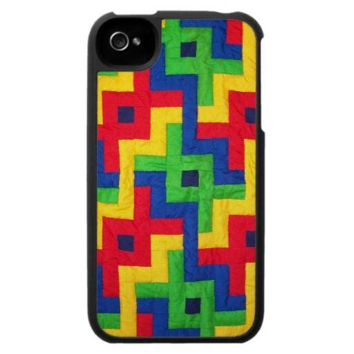 'Patchwork Quilt' iPhone Case: http://www.zazzle.com/patchwork_quilt_iphone_case-176847814845638089?rf=238041988035411422