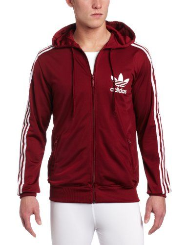 the latest 11883 a7350 adidas Men s Adi Hooded Flock Track Top 2  60.00