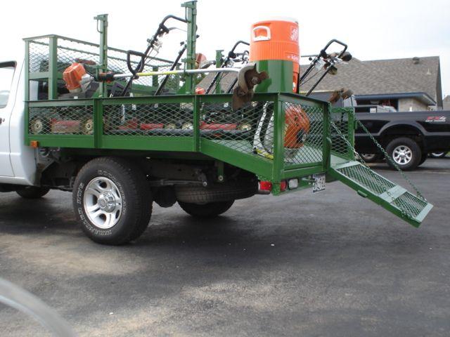 Most efficient city mowing truck lawn for Garden maintenance van