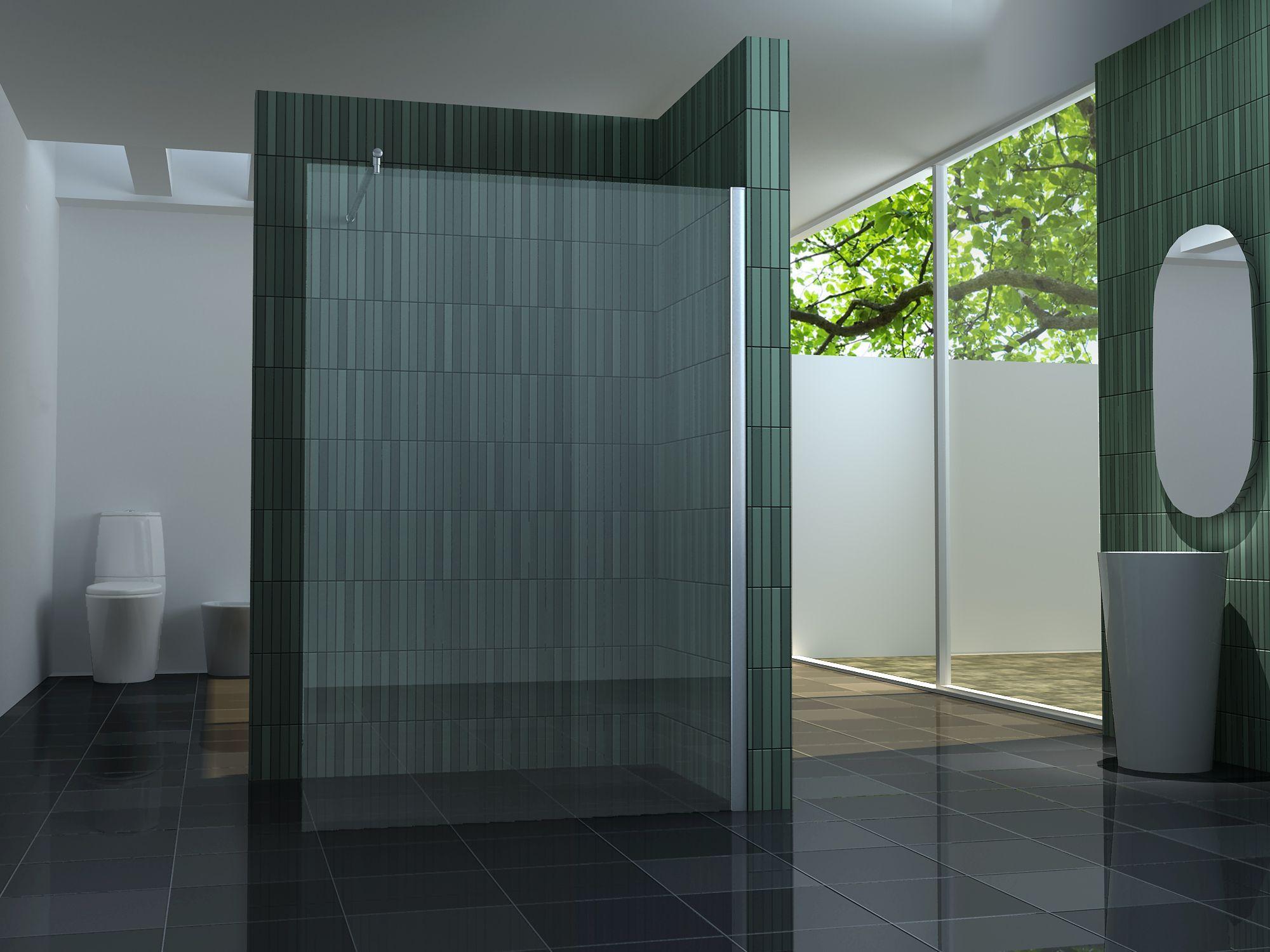 Duschabtrennung glaswand  Duschabtrennung Glas | ☆Badezimmer☆ | Pinterest ...