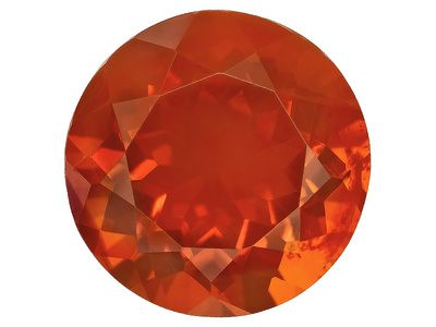 Mexican Fire Opal Average 11.00ct 16mm Round