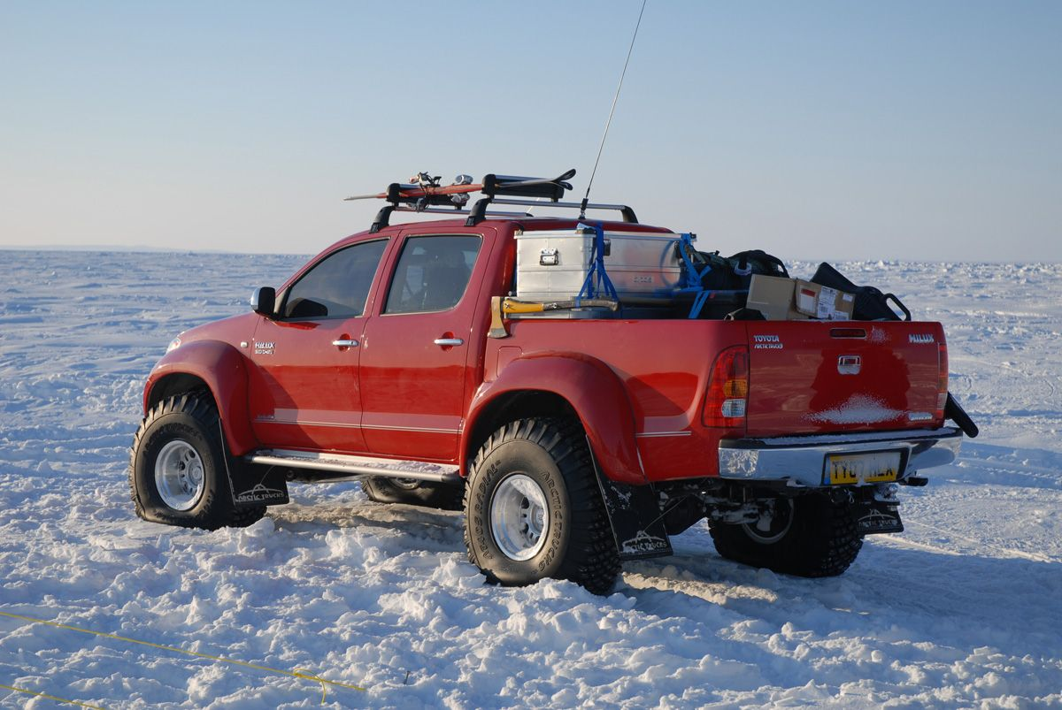 Top gear polar challenge in a toyota hilux tacoma to u s readers 50