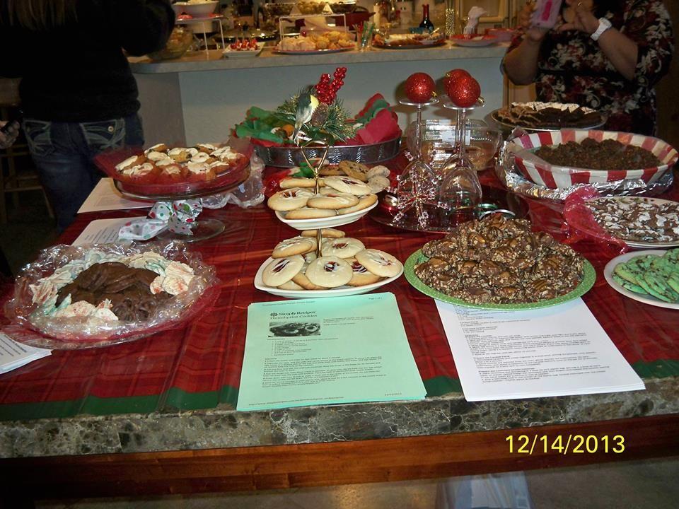 Dec 2013 Kelly's 1st cookie swap party w/recipes.