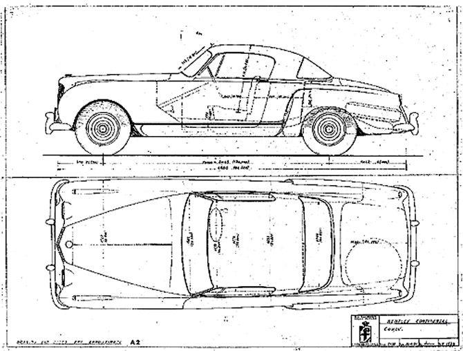Pininfarina Bentley R-Type Continental Coupe (1954