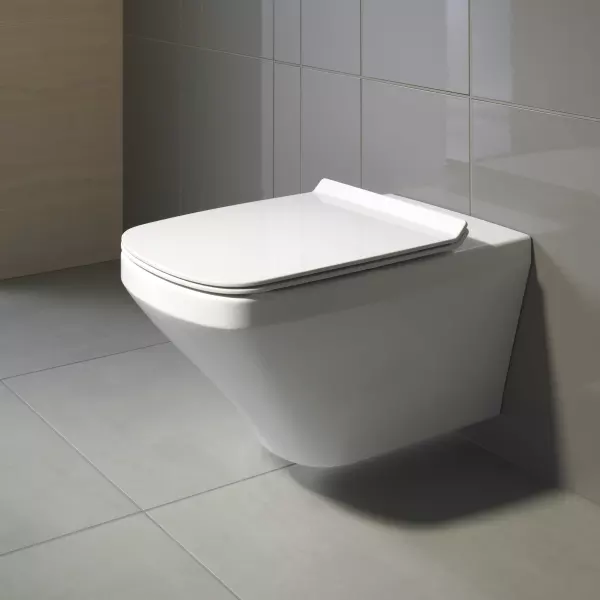 Duravit 2537090092 Durastyle Wall Mounted Toilet In 2020 Wall