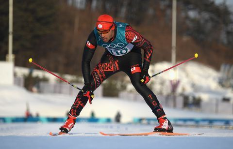 Cross Country Skiing At The 2020 Olympic Winter Games.Exclusive Tonga Flag Bearer Pita Taufatofua On On Oily Abs