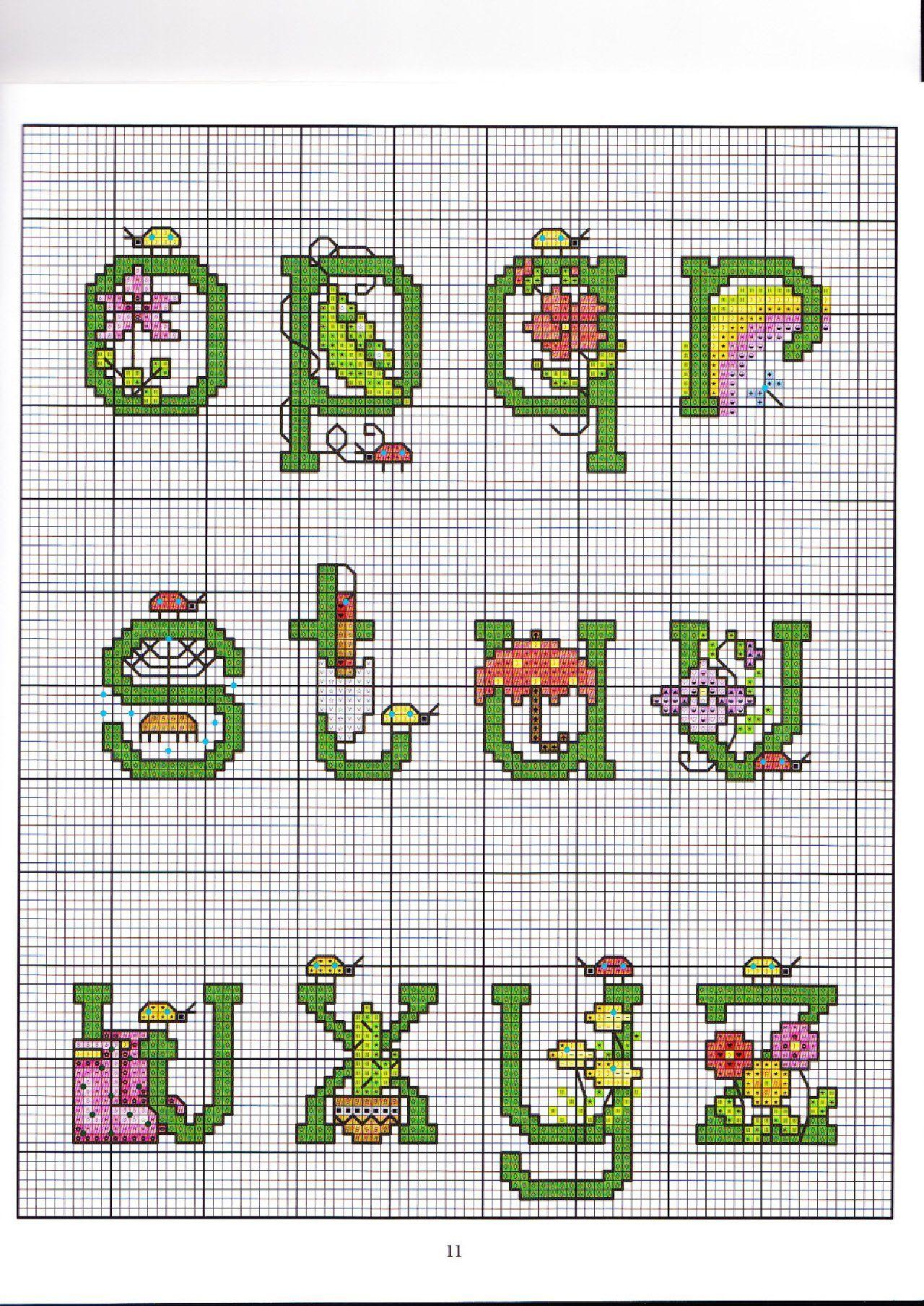 Garden alphabet letters lower case oz abc jardins pinterest