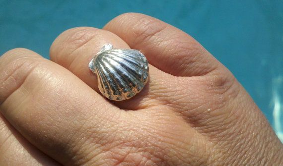 Sterling Silver Ring Fine SIlver Ring by JulieAndersonDesign, $65.00