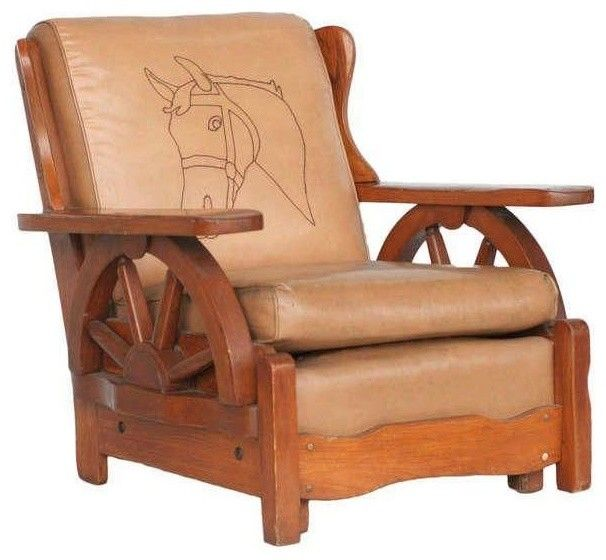 Vintage Western Decor, Western Style, Western Wear, Western Furniture,  Wagon Wheels, Wild West, Rocking Chair, Lounge Chairs, Rodeo Life - Pin By Sergey Paramonov On Chairs, Armchairs, Sofas, Etc