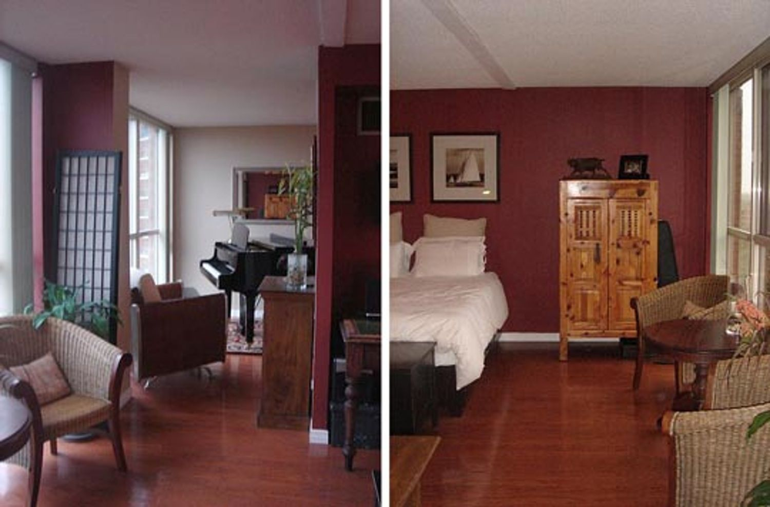 Best Colors to Coordinate with Cherry Floors? | Living ...