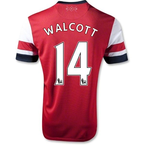 Nike Arsenal Theo Walcott 2012-13 Official Home Jersey - model 479302TW -  only $89.99