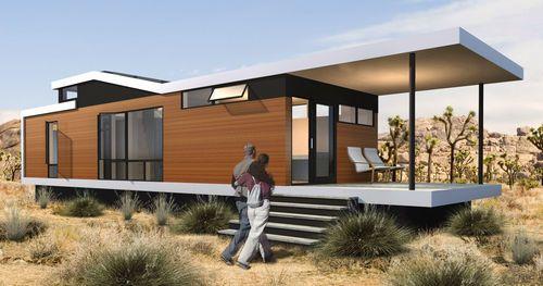 Wooden Prefab Micro House Cali Solo 2 Sustain Design Studio Prefab Homes Modern Prefab Homes Affordable Prefab Homes