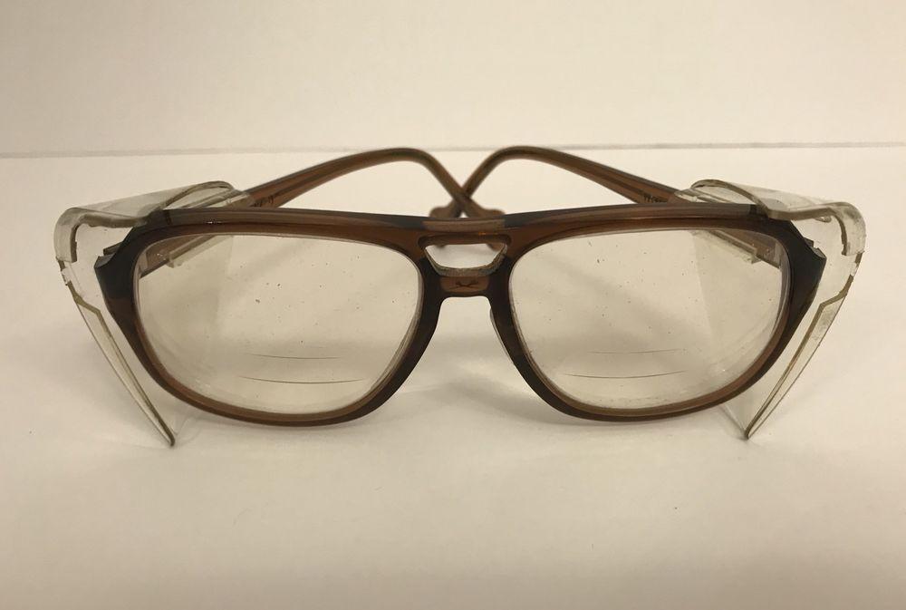 Vintage TITMUS Eyeglasses Safety Glasses Steampunk Frames Guard R ...