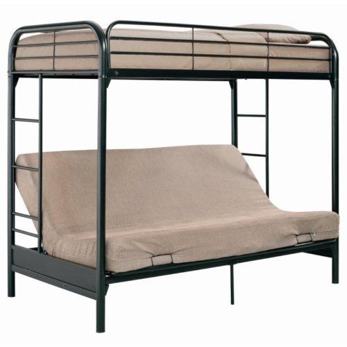Barwick Twin Over Futon Bunk Bed By Ameriwood 328 98 Lower