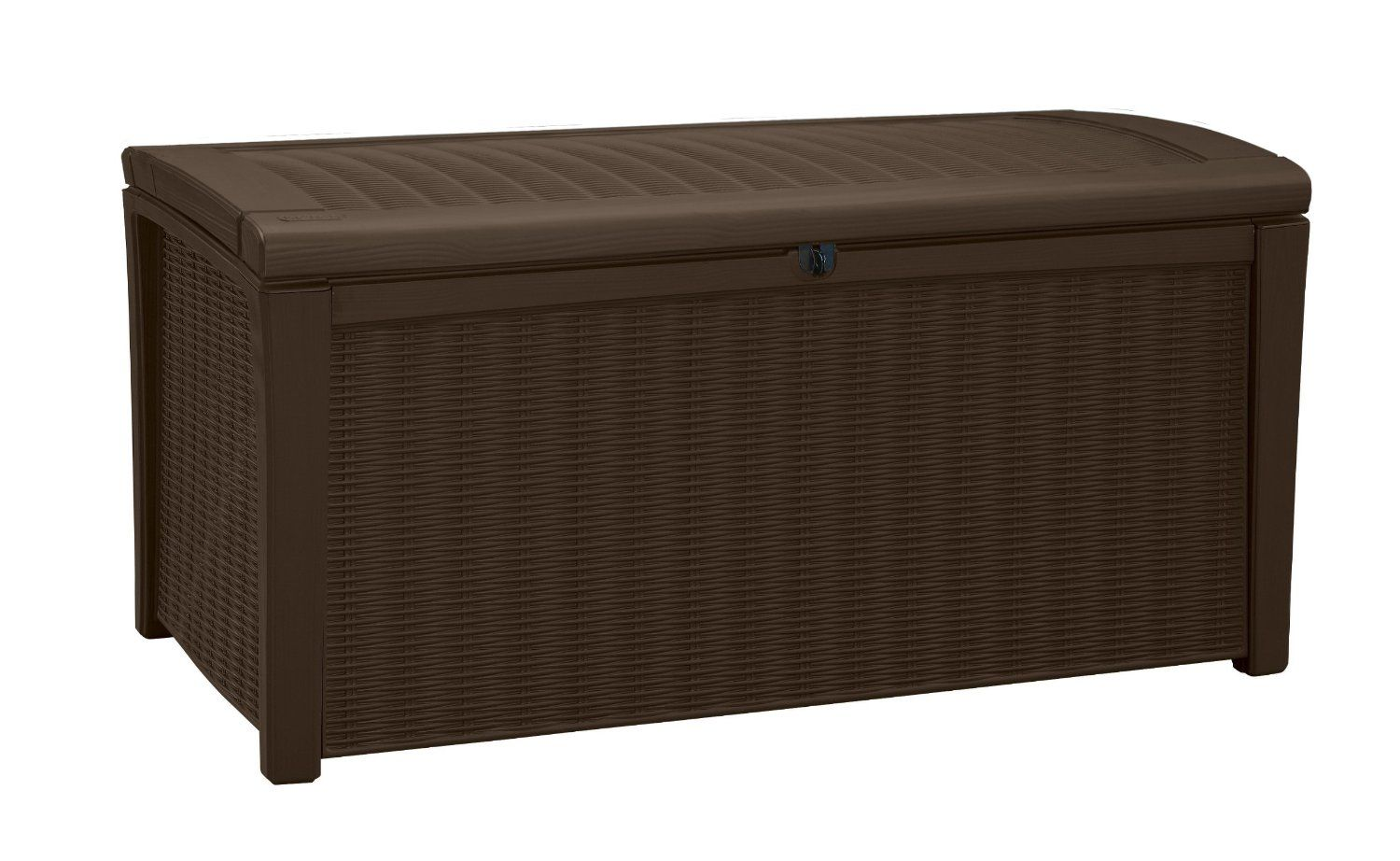 Keter Borneo Plastic Storage Box Container Outdoor Garden Furniture  416 L    Brown  Amazon. Keter Borneo Plastic Storage Box Container Outdoor Garden
