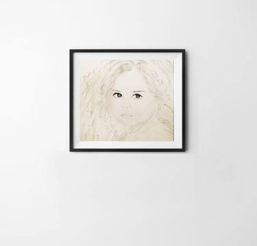 "Saatchi Art Artist Ramez Samaan; Drawing, ""Innocence"" #art"