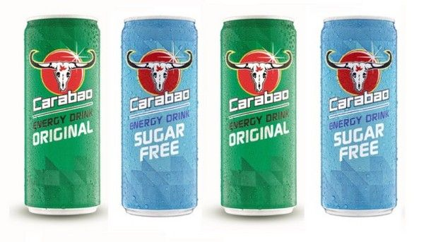 The Carabao Is An Asian Water Buffalo Admired For Its Physical Power Extraordinary Stamina Unbreak Energy Drinks Bottle Packaging Creative Packaging Design