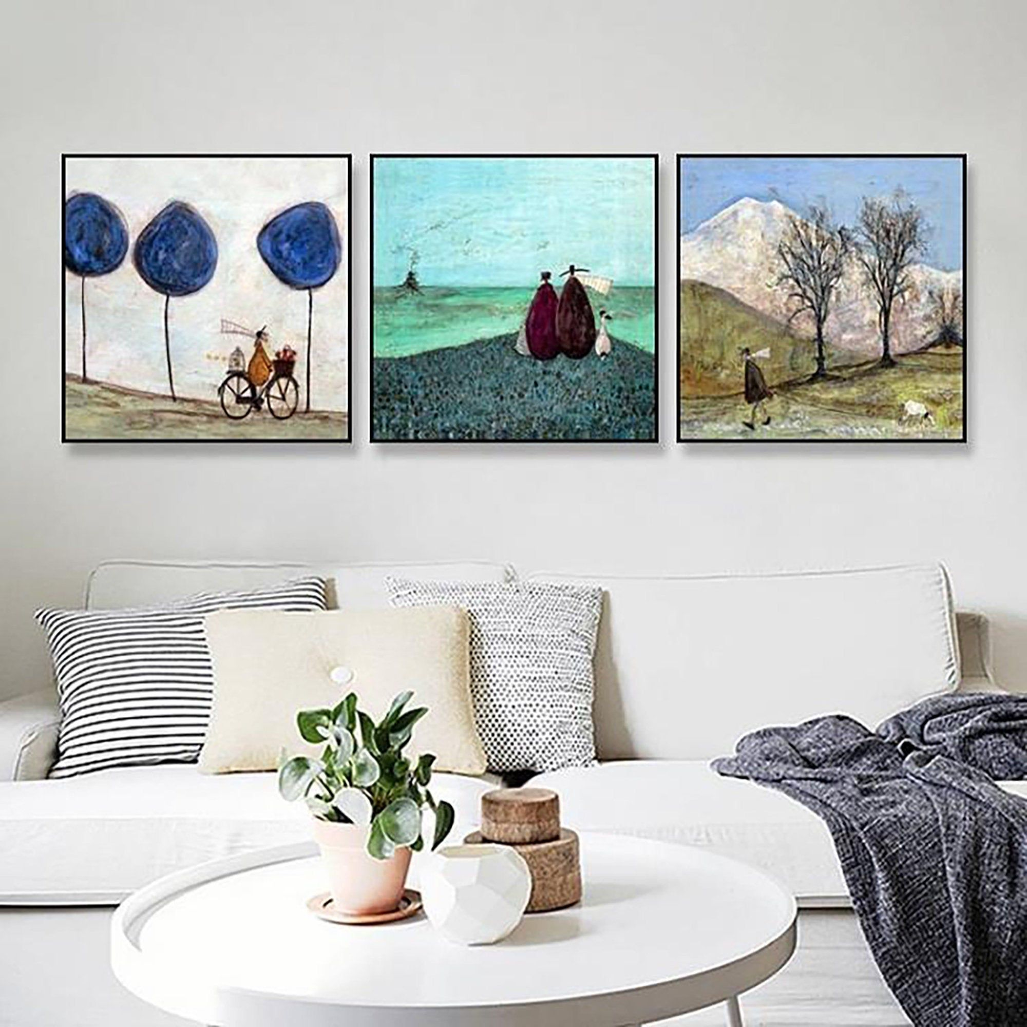 Happy Family Abstract Decorative Oil Painting Canvas Spray Painting Living Room Bedroom Study Ho Abstract Canvas Painting Acrylic Wall Decor Wall Decor Bedroom #oil #painting #living #room
