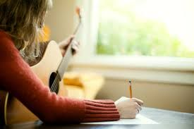 Songwriting.  Songwriting is something that I haven't done very much of besides a few lines here and there.  I want to do more of it because it combines my love of music with my love of poetry and my currents attempts to play guitar.  When songwriting you can just let your words flow with whatever tune that you think up.