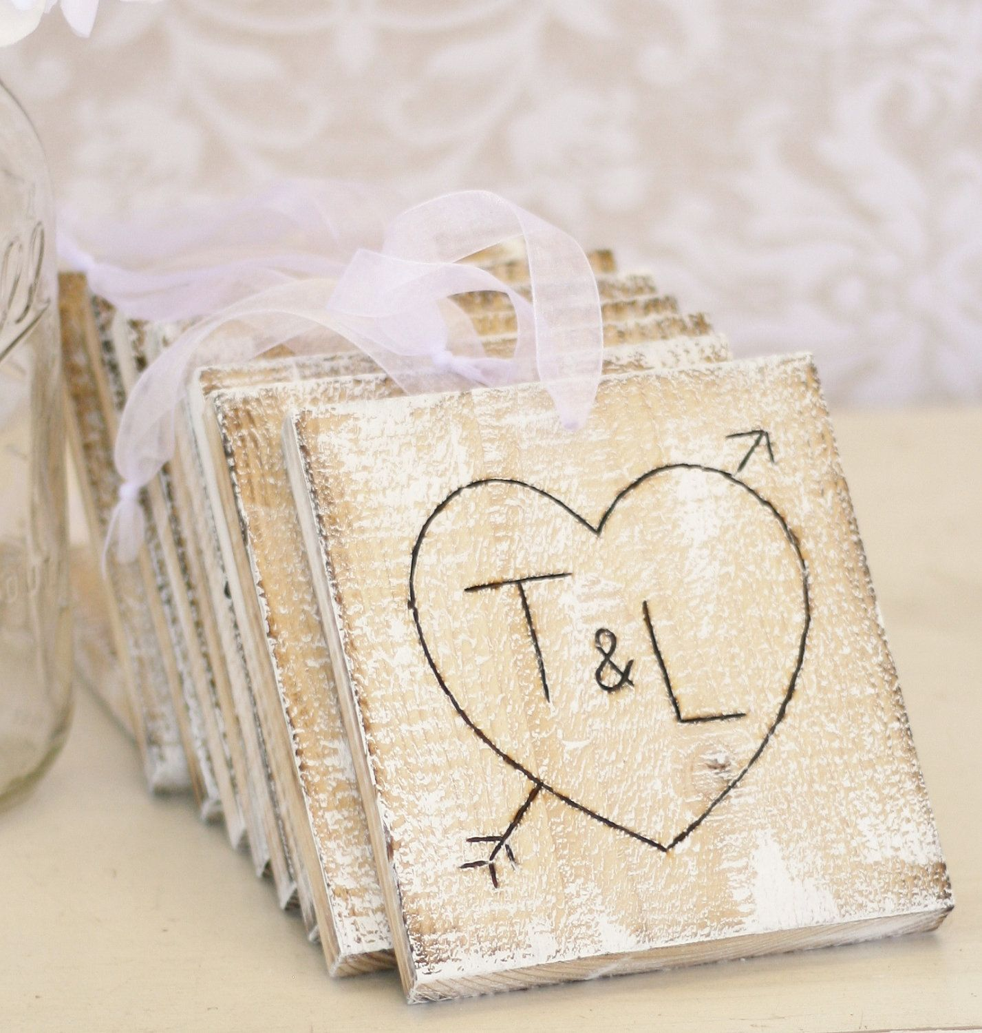 Image detail for -Personalized Wedding Centerpiece Charms Rustic ...