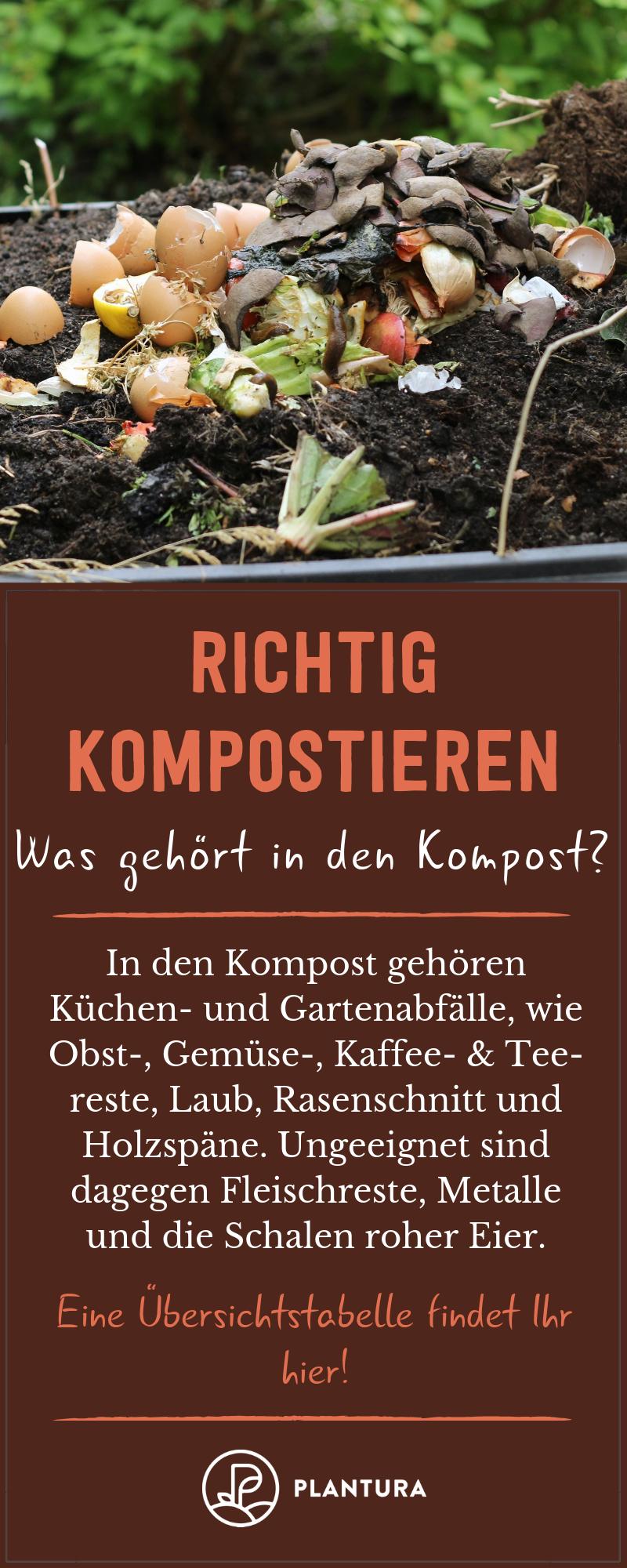 Richtig Kompostieren Tipps Tricks Rund Um Den Eigenen Kompost Plantura Garden Planning Garden Garten