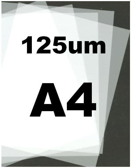 GENUINE MYLAR BLANK STENCIL SHEET 5 X A4-125 MICRON BEST PRICE