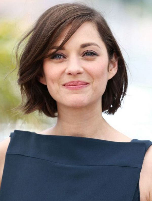 Messy Blunt Bob Inspiration Marion Cotillard Cool Short