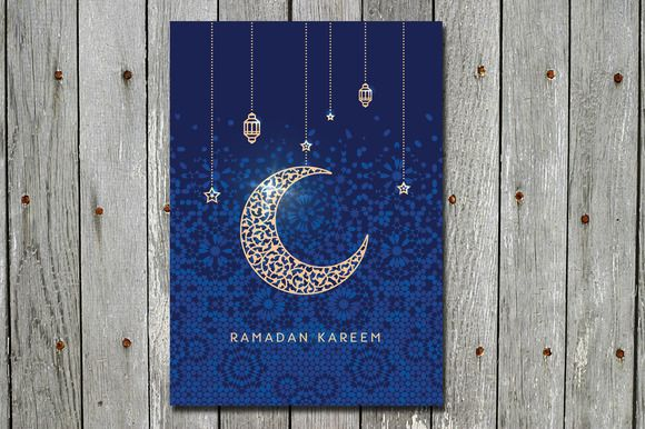 Ramadan Kareem Greetings Card Ramadan Kareem Ramadan Greeting Cards