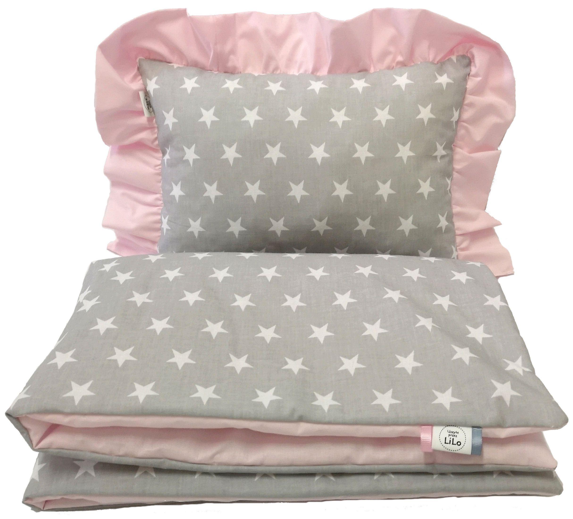 Lilo Posciel Z Falbanka Do Wozka Bawelna D Wzorow Bed Pillows Pillows Bed