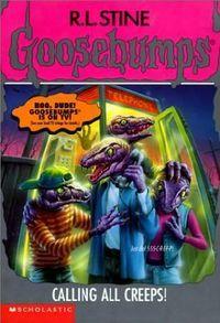 Meet the creeps childrens book