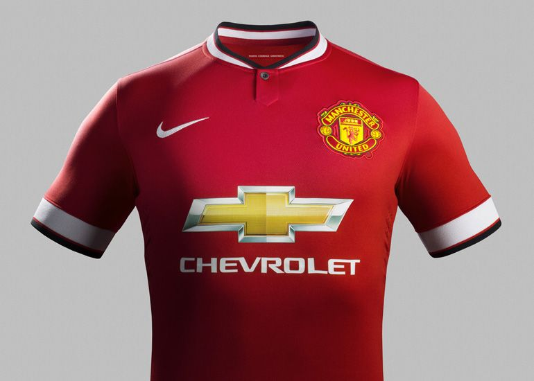 Nike Reveals Manchester United S New Home Kit Manchester United Shirt Football Shirts Shirts