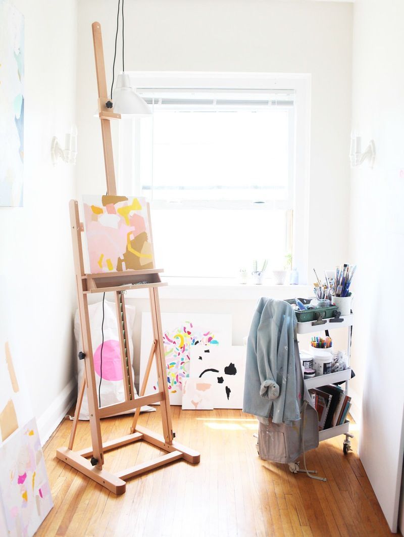 A Bright, Light & Carefully Crafted Home & Art Studio | Bright ...
